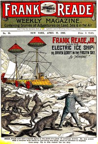 cover for book Frank Reade, Jr., and His Electric Ice Ship