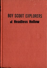 cover for book Boy Scout Explorers at Headless Hollow