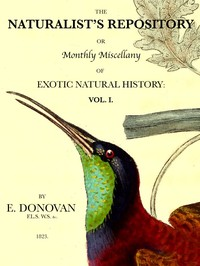 cover for book The Naturalist's Repository, Volume 1 (of 5)
