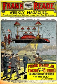 cover for book Frank Reade Jr. and His Engine of the Clouds