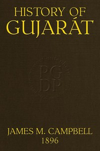cover for book History of Gujarát