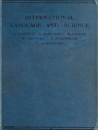 cover for book International Language and Science