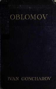 cover for book Oblomov