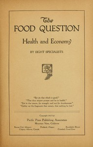 cover for book The Food Question
