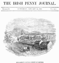 cover for book The Irish Penny Journal, Vol. 1 No. 31, January 30, 1841