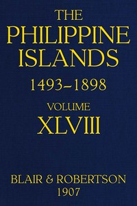 cover for book The Philippine Islands, 1493-1898: Volume 48, 1751-1765