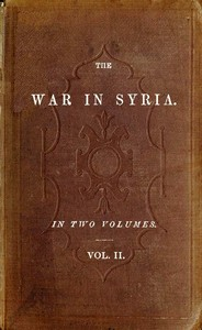 cover for book The War in Syria, Volume 2 (of 2)
