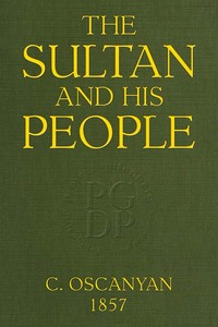 cover for book The Sultan and his People