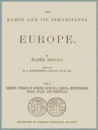 cover for book The Earth and its inhabitants, Volume 1: Europe.