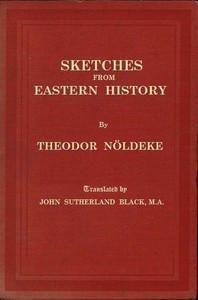 cover for book Sketches from Eastern History