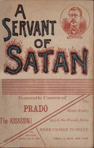 cover for book A servant of Satan