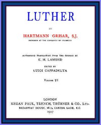 cover for book Luther, vol. 6 of 6