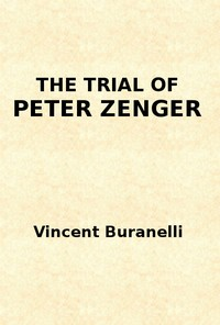 cover for book The Trial of Peter Zenger