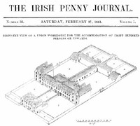 cover for book The Irish Penny Journal, Vol. 1 No. 35, February 27, 1841