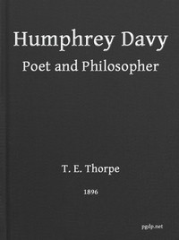 cover for book Humphry Davy Poet and Philosopher