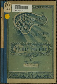 cover for book His Glorious Appearing