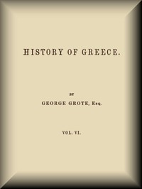 cover for book History of Greece, v. 6 (of 12)