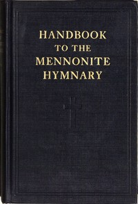 cover for book Handbook to the Mennonite Hymnary