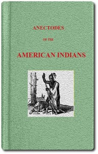 cover for book Anecdotes of the American Indians