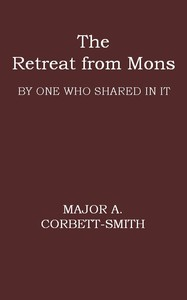 cover for book The Retreat from Mons