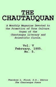 cover for book The Chautauquan, Vol. 05, February 1885
