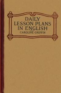 cover for book Daily Lesson Plans in English