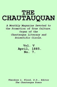 cover for book The Chautauquan, Vol. 05, April 1885