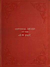 cover for book Historical Record of the Forty-sixth or South Devonshire Regiment of Foot