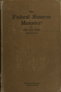 cover for book The Federal Reserve Monster