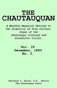cover for book The Chautauquan, Vol. 04, December 1883
