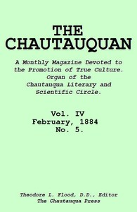cover for book The Chautauquan, Vol. 04, February 1884, No. 5.
