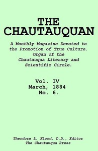 cover for book The Chautauquan, Vol. 04, March 1884, No. 6
