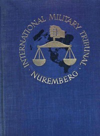 cover for book Trial of the Major War Criminals Before the International Military Tribunal, Volume VI
