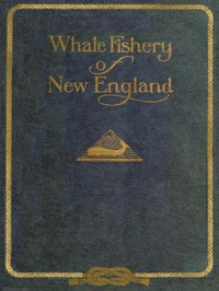 cover for book Whale Fishery of New England