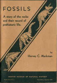 cover for book Fossils: A Story of the Rocks and Their Record of Prehistoric Life