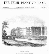 cover for book The Irish Penny Journal, Vol. 1 No. 42, April 17, 1841
