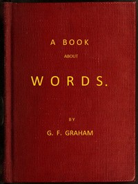 cover for book A Book About Words