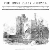 cover for book The Irish Penny Journal, Vol. 1 No. 43, April 24, 1841