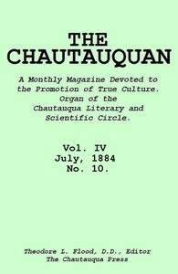 cover for book The Chautauquan, Vol. 04, July 1884, No. 10