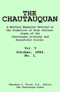 cover for book The Chautauquan, Vol. 05, October 1884, No. 1