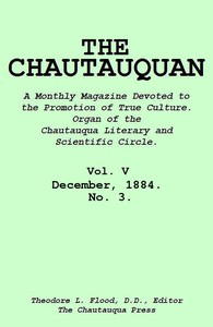 cover for book The Chautauquan, Vol. 05, December 1884, No. 3
