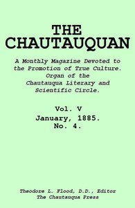 cover for book The Chautauquan, Vol. 05, January 1885, No. 4