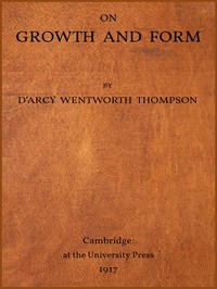 cover for book On Growth and Form