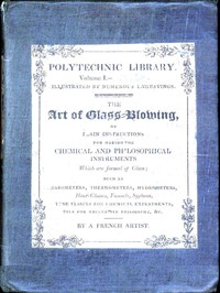 cover for book The Art of Glass-Blowing
