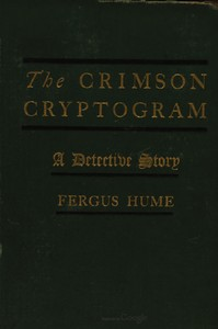 cover for book The Crimson Cryptogram