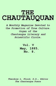 cover for book The Chautauquan, Vol. 05, May 1885, No. 8