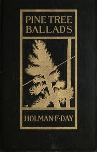 cover for book Pine Tree Ballads