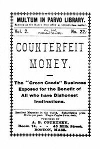 cover for book Counterfeit Money