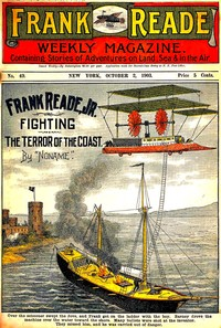 cover for book Frank Reade, Jr., Fighting the Terror of the Coast