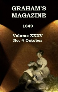 cover for book Graham's Magazine, Vol. XXXV, No. 4, October 1849